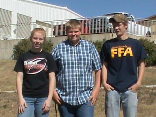 SCHS FFA Horse CDE Team
