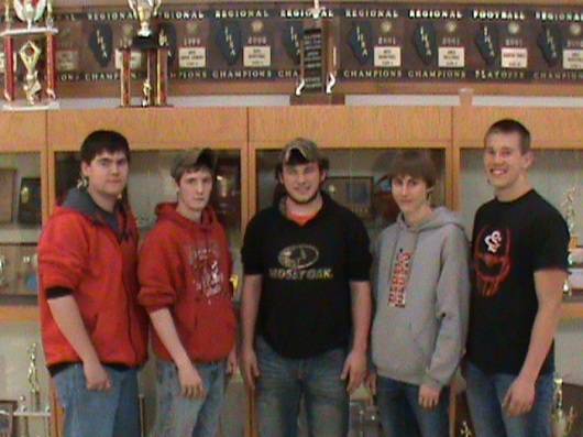 SCHS Agr Mechanics Team