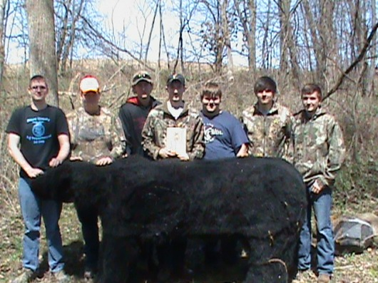 First Place Bowhunter Division Team